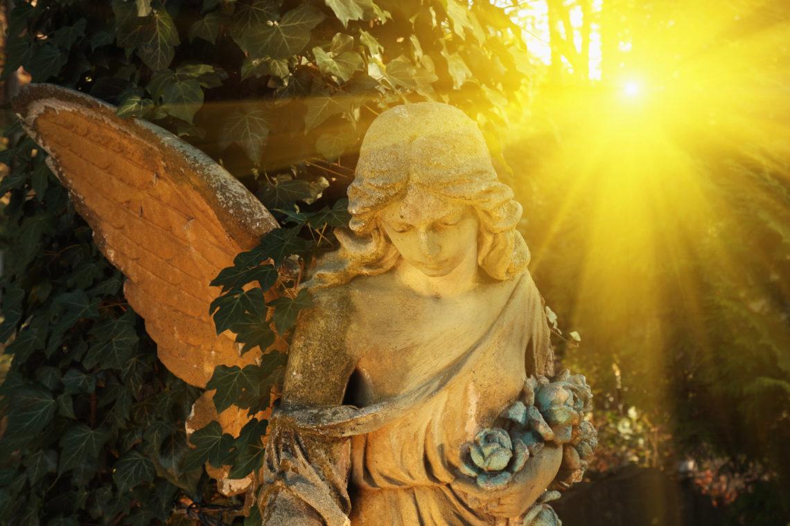 Glaubensgarten Engel